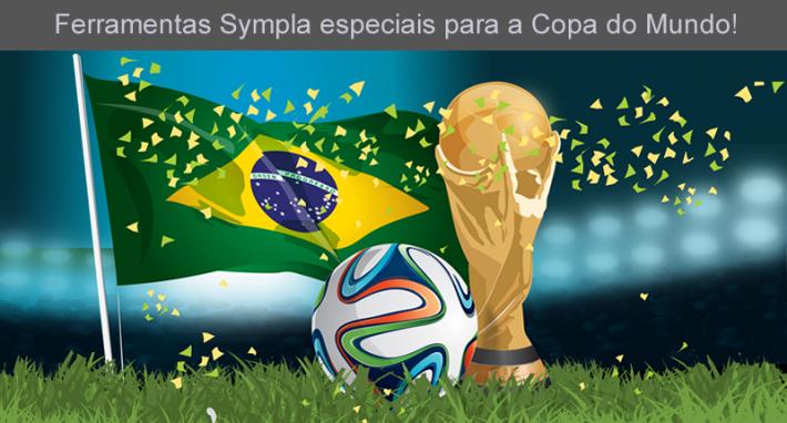 A Copa do Mundo já começou na Sympla! Pagamento internacional e comunicação multi-idioma estão disponíveis para os eventos!