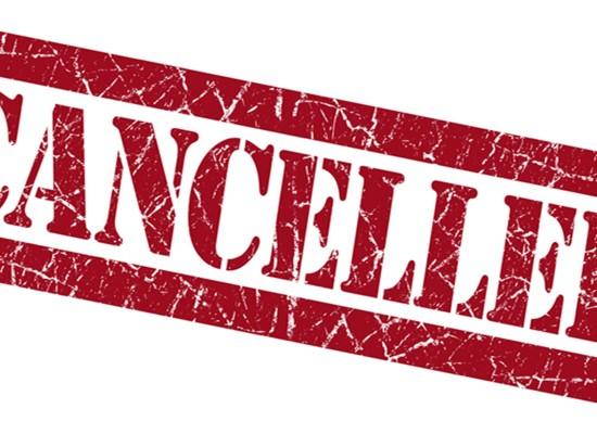 Meu evento foi cancelado. E agora?