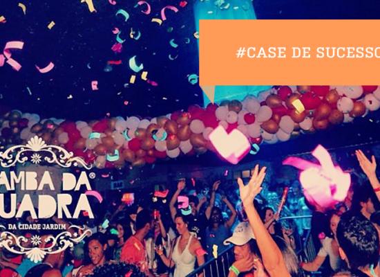 SAMBA DA QUADRA, símbolo de festa de alto padrão… sem filas!