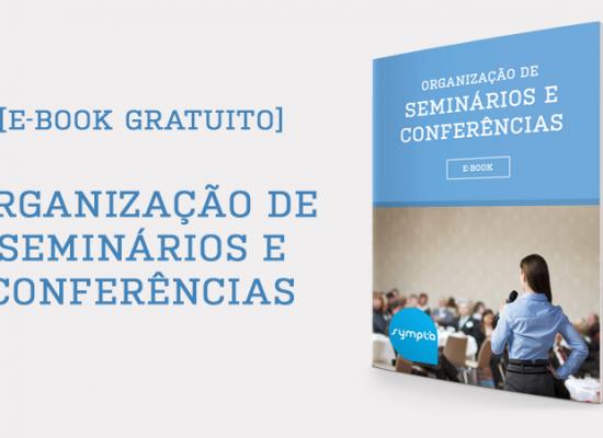 [E-book #4] Organização de Seminários e Conferências