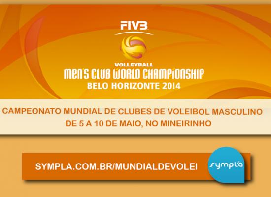 Ingressos à venda para o Campeonato Mundial de Clubes de Voleibol Masculino