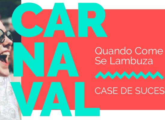 """Quando Come Se Lambuza: um carnaval com muita música """"para pular"""" brasileira"""