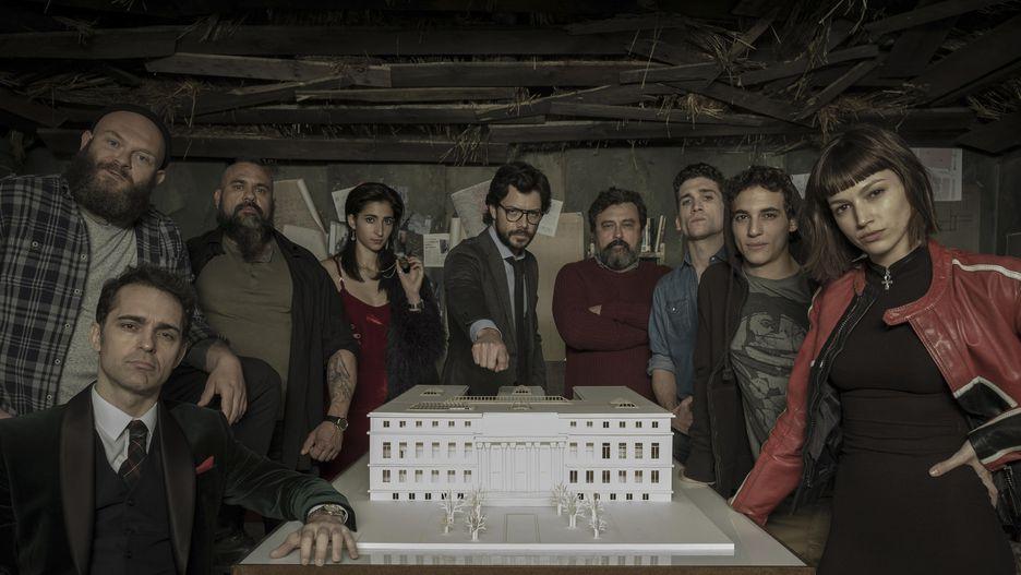 personagens la casa de papel