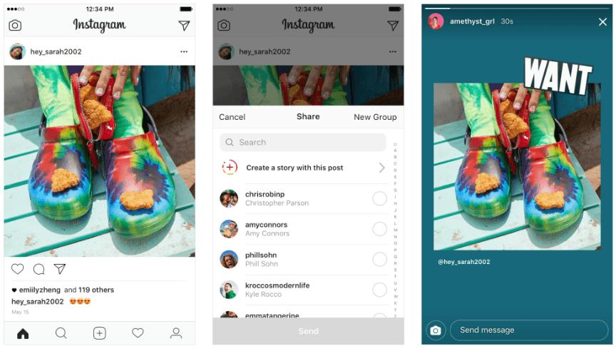 Como usar Instagram Stories para compartilhar feed no stories - Como usar o Instagram Stories