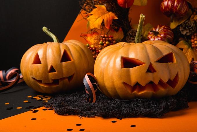 como organizar uma festa de halloween - abóboras
