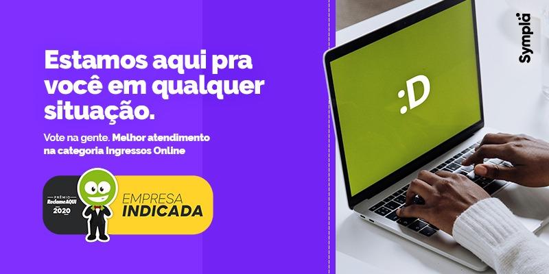 Sympla é finalista no Prêmio Época Reclame Aqui 2020