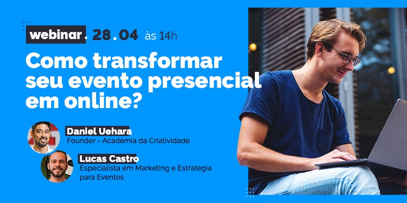 evento presencial para online